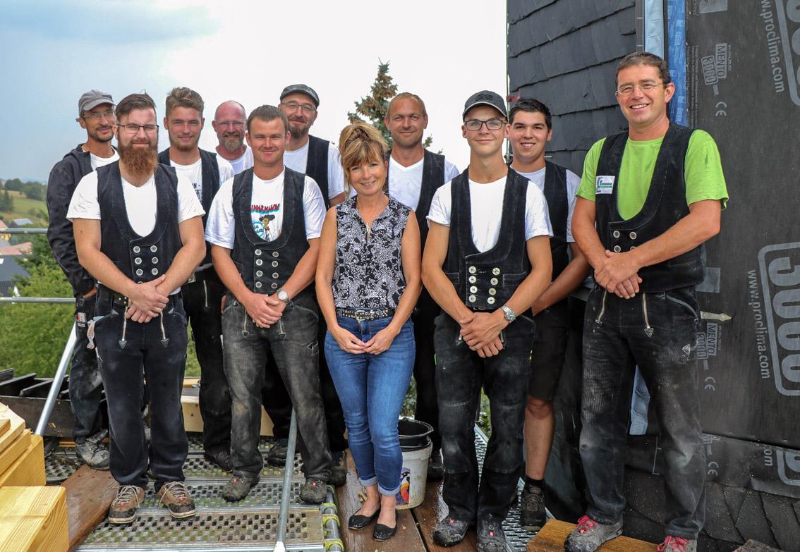 Das Team der Holz & Dach Donath GmbH